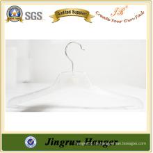 Transparente Kleidung Jacke Kleiderbügel aus Kunststoff