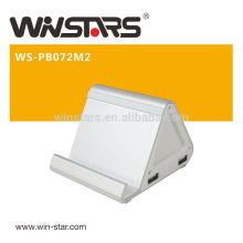 7200mAh портативное резервное зарядное устройство.USB Power Bank, встроенный светодиодный индикатор показывает состояние питания