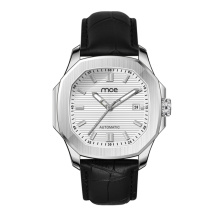 OEM luxury stylish stainless steel case back luxury automatic men watch