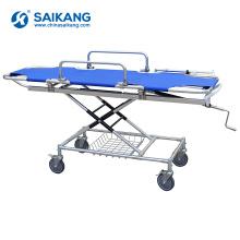 Trole paciente da maca da ambulância do hospital da liga de alumínio de SKB040 (a)