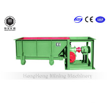 Alimentador de canal de minerales de gran capacidad para equipos de procesamiento de minerales