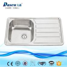 fregadero de la cocina borde de protección lavabo de cerámica pintado a mano fregadero dental