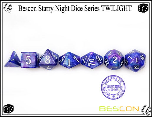 Starry Night Dice-15