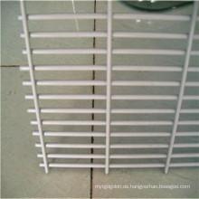 Anti-Aufstieg galvanisierter geschweißter Stahl-hoher Sicherheits-Maschendraht-Zaun