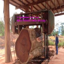 Grande machine à scier à ruban horizontale en bois pour le travail du bois dur