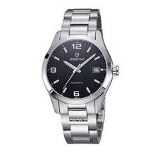 Staineless Stahl mechanische Förderung Business Armbanduhr