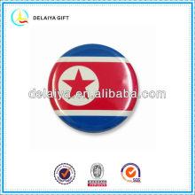 Флаг Северной Кореи олово знак