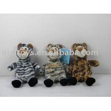 детские игрушки животных плюшевые леопарды