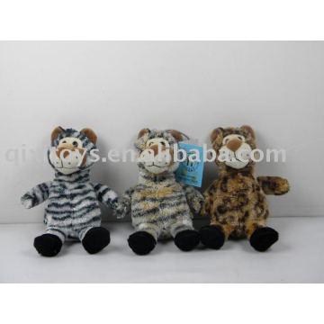 juguetes de animales de peluche leopardos de felpa