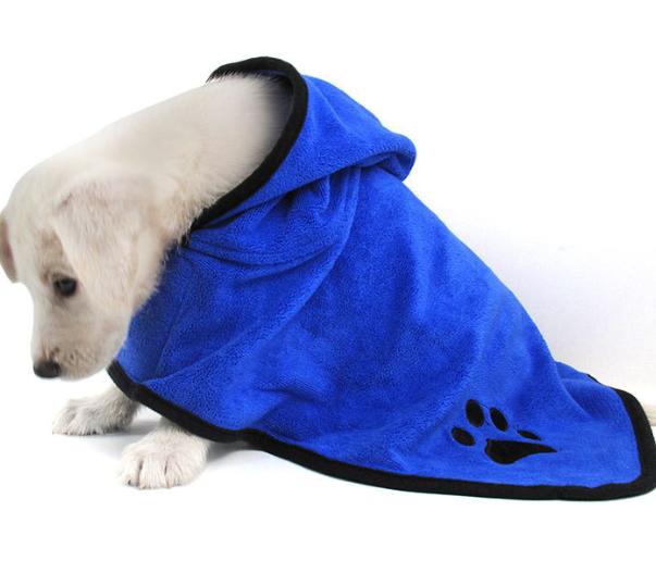 Hooded Puppy Bathrobe