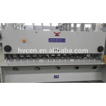 Qc11y-6x5000 cisaille hydraulique de guillotine, nc machine de cisaillement de guillotine, cisailles à guillotine métallique