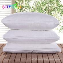Microfiber pillow/Compressed star hotel bed use microfiber hotel pillow