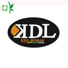 Customized Car&Clothing Silicone Logo badge Brand Label