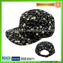 Chapeaux imprimés floraux à gros-style 0008