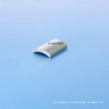 40ш высокое качество дуги сегмента магниты Неодимия с покрытием цинка