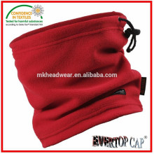 100% polyester adult used neck warmer, fleece neck warmer, elastic neck warmer