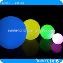 LED furniture lighting swimming pool products IP68 waterproof LED ball for outdoor/pool floating ball light