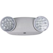 Luz LED de emergencia de 1,2 vatios por cabeza con interruptor de prueba