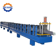 Colored Steel Gutter Roll Forming Machine For Sale