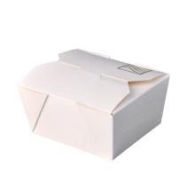 Fast Food Beyaz Karton Take Away Kağıt Kutular