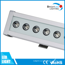 LED de la pared de la lavadora Linear LED barra de luz para la construcción