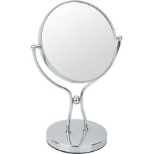 Y Shape Metal Chrome Makeup Mirror