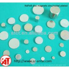 Disc-Magnete Neodym N35 N45 N40 N42 N38 N48