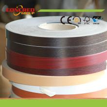 Eoncred Marke Holzmaserung Farbe Matte PVC Kantenanleimmaschinen