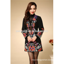 2016 new fashion women embroidered coat outerwear