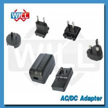 Adaptador de corriente universal del usb de la CA 5v 1.5a de la alta calidad con ROHS