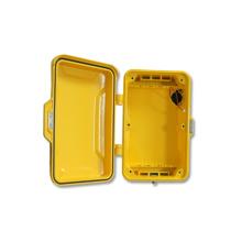 Notfall-Telefonzelle, öffentliche Telefonabdeckung, Alumium-Gehäuse, Anti-Vandal-Gehäuse