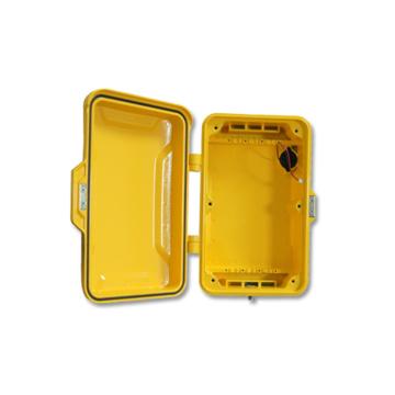 Caja de teléfono de la emergencia, cubierta del teléfono público, caso del Alumium, caso anti-vandal