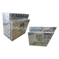 (L/R) Aluminum Echelon Underbody Tool Box for truck (L/R) Aluminum Echelon Underbody Tool Box for truck