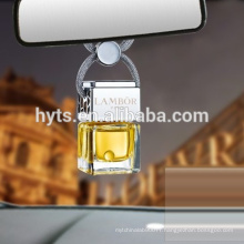 5ml square elegant car air freshener bottle