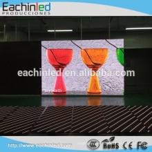 Populärer HD farbenreicher Verleih ecran führte Wand P4 LED