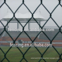 Galvanized Chain Link Fence(factory)