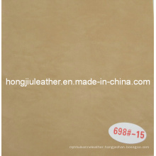 Light Yellow Oil Wax Decorative Leather