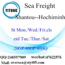 Shantou θαλάσσια ναυτιλία φορτίου να Hochiminh