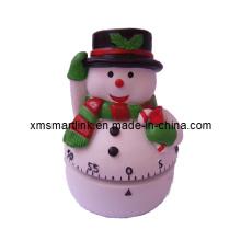 Snowman Mechanical Kitchen Timer, Cooking Countdown Digital Timer