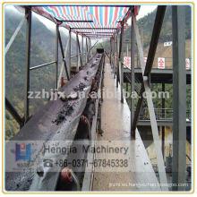 Manejo de sistema de cinta transportadora de carbón