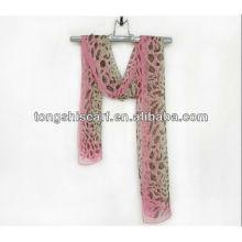 мода печатных шифон жоржет шарф