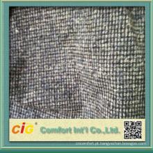 viscose / poliéster tecido de sofá