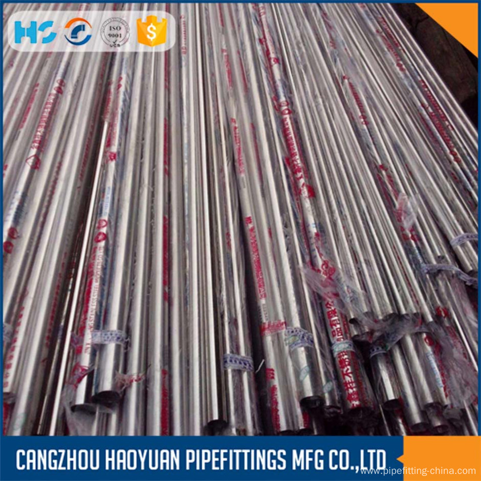 Ss316 Schedule 10 Large Diameter Stainless Steel Pipe