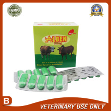 Veterinary Drugs of Albendazole Bolus 300mg