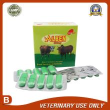 Medicamentos veterinários de Albendazole Bolus 300mg