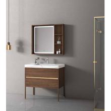Luxurious aluminum bathroom mirror cabinet