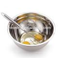 Bol à salade antidérapant avec fond en silicone, bol à mélanger