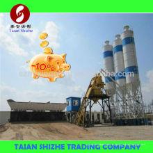 Pequeño inversor HZS35 Listo mezcla cemento planta de dosificación para la venta