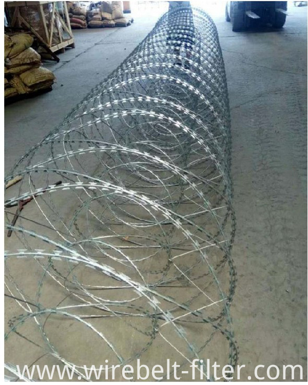 Rezor Wire Fence