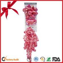 Embalaje de regalo cinta rizada de satén